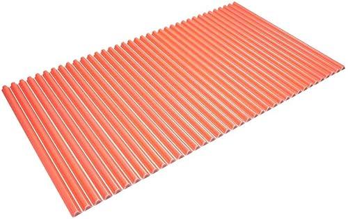 東プレ シャッター式風呂ふた 波型 カラーウェーブ 70×120cm ピンク M12