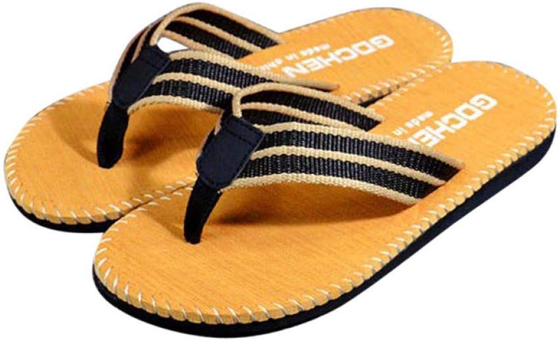 QRETYSG flip flop slippers men shoes Summer Flip Flops shoes Beach Sandals Male Soft Slipper Flip-flops