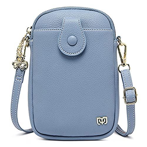WEIBM Bolso bandolera de moda para mujer, bolso de hombro con cambio de bolso para teléfono móvil