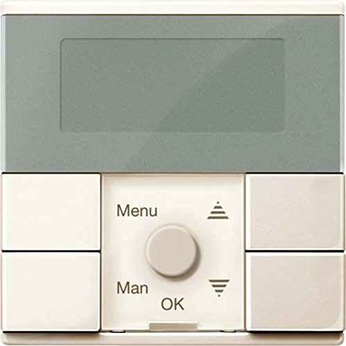 Merten Zeitschaltuhr-Modul MEG5754-0344 weiß glänzend System M Zeitschaltuhr für Installationsschalterprogramme 4042811185572