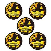 モノココロ おもわず歌いだしそうなかぼちゃのHALLOWEEN シール 100枚入