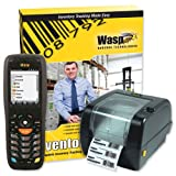 Wasp Inventory Control Mobile Solution DT10 Hand Computer and WPL305 Barcode Printer Ref...
