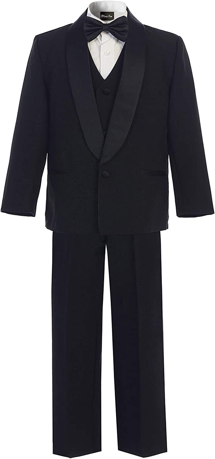 OLIVIA KOO Boy's Classic Tuxedo with Suit Many popular brands No Limited time trial price Tail