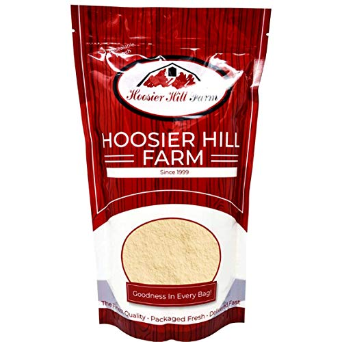 Soy Lecithin Powder (250g) Pure Non-GMO Deoiled Soybean Lecithin by Hoosier Hill Farm