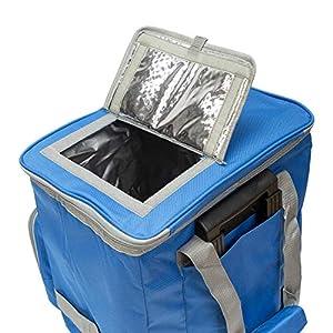 51eKOJC3vEL. SS300  - PAPILLON 5080126 Nevera Bolsa Termica 38 litros Azul Trolley