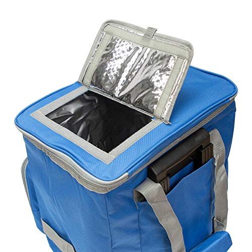 51eKOJC3vEL - PAPILLON 5080126 Nevera Bolsa Termica 38 litros Azul Trolley