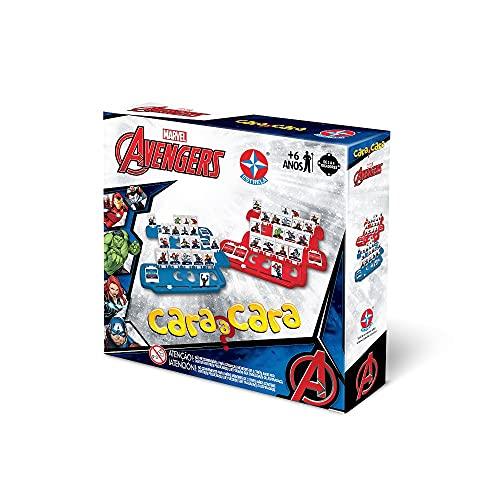 Jogo Cara a Cara Avengers, Marvel, Estrela - Exclusivo Amazon, Brinquedos Estrela, Multicor