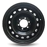 Road Ready Car Wheel For Toyota Tacoma 17 Inch 6 Lug Steel Rim Fits R17 Tire