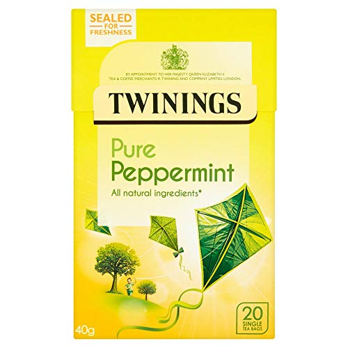 Twinings Pure Peppermint Tea Bags 20s x 4