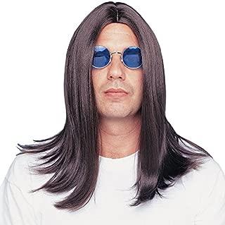 Men's Parted 18 Inch Wig Deluxe