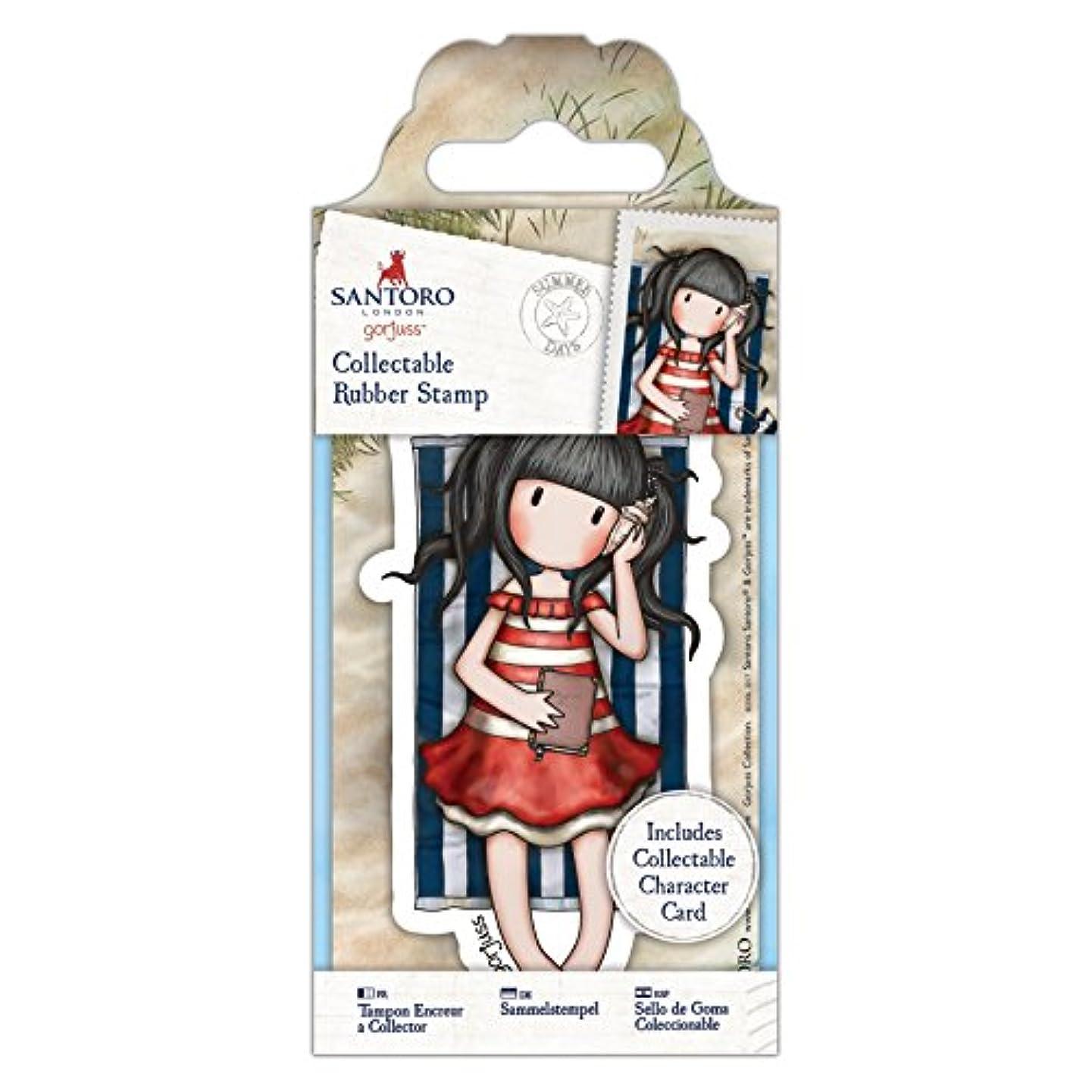 DOCrafts No. No. 42 Summer Days Santoro's Gorjuss Rubber Stamp