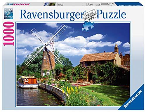 Ravensburger Puzzle 15786 - Malerische Windmühle - 1000 Teile Puzzle für Erwachsene und Kinder ab 14 Jahren