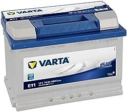 BATERIA COCHE VARTA BLUE DYNAMIC E11 74AH 680A 12V POSITIVO DERECHA Dimensiones: (L) 278mm.- (Al) 190mm.- (A) 175mm.
