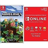Foto Minecraft - Nintendo Switch + 365 Giorni Switch Online Membri (Individual) | Nintendo Switch - Codice download