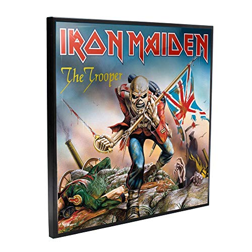 Nemesis Now Iron Maiden The Trooper - Cuadro (32 cm), Color