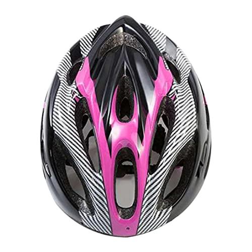 Qagazine Casco de bicicleta de montaña Casco de ciclismo de carretera ajustable protección para hombre y mujer adulto deporte bicicleta seguridad