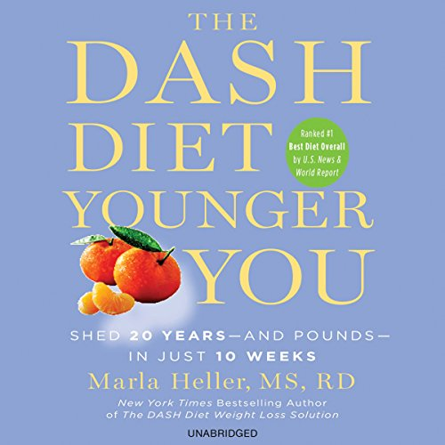 The DASH Diet Younger You audiobook cover art