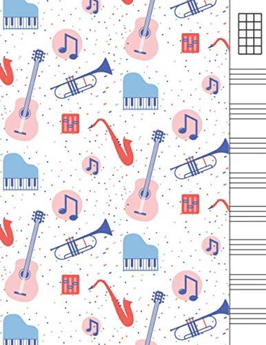 Quaderno Ukulele Tab: Music Manuscript Paper