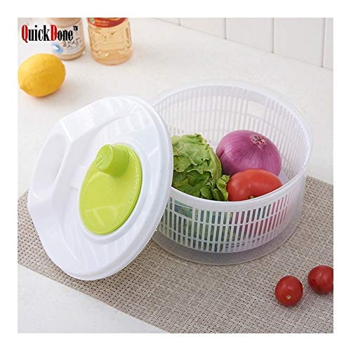 Best Buy! QuickDone Vegetables Dehydrator Dryer Salad Spinner Fruits Basket Wash Clean Basket Storag...