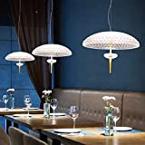 Lampadario di cristallo Lampada a sospensione Lampadario Medusa Lampada a sospensione Restaurant Cafe Finestra Comodino Camera creativa LED di personalità Lampada a sospensione (Dimensioni: L) lampada