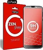 ZenGlass [2 Stück Flexible Glas-Folie kompatibel mit Lenovo Moto G6 Play Panzerfolie I Bildschirm-Schutzfolie 9H I (Kleiner Als Das Gewölbte Bildschirm)
