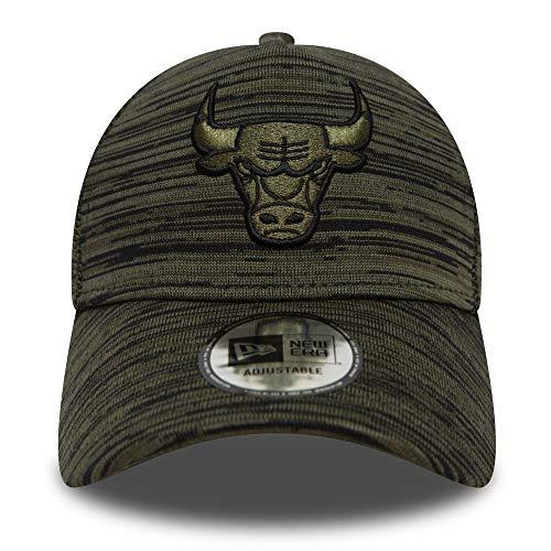 New Era Herren Snapback Caps NBA Engineered Fit Chicago Bulls 9 Fourty Aframe Olive Verstellbar