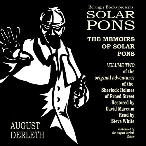 The Memoirs of Solar Pons audiobook cover art
