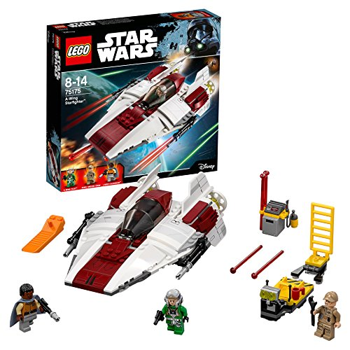 LEGO Star Wars 75175 A-Wing Starfighter - Figura de Star Wars