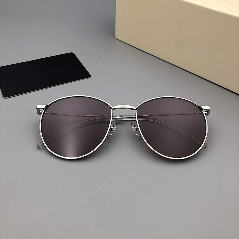 WYZBD Sonnenbrillenfrauen beilufige Sonnenschutzsandbrillen im Freien,lila