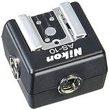 Nikon AS-10 Multi-Flash Adapter - Accesorio para cámara (Negro)