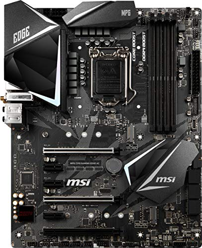 MSI MPG Z390 Gaming Edge AC, LGA 1151 Mainboard (DDR4, 2X Turbo M.2, 9x USB 3.1, 3X Gen2 und 6X Gen1, WLAN, BT)