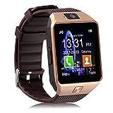Piqancy DZ09 Bluetooth Smartwatch (Gold)