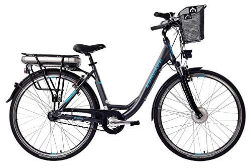 ZÜNDAPP E-Bike, 7-Gang Shimano Nabenschaltung, 250W und 13Ah, 36V Lithium-Ionen-Akku