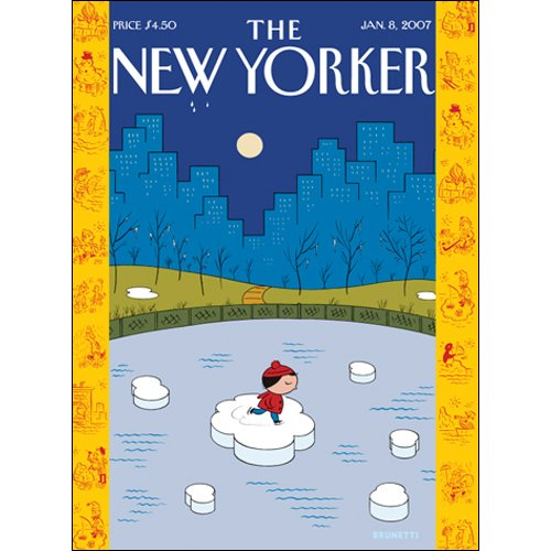 The New Yorker (Jan. 8, 2007) audiobook cover art