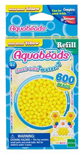 Aquabeads 32528 Gelbe Perlen - Nachfüllset