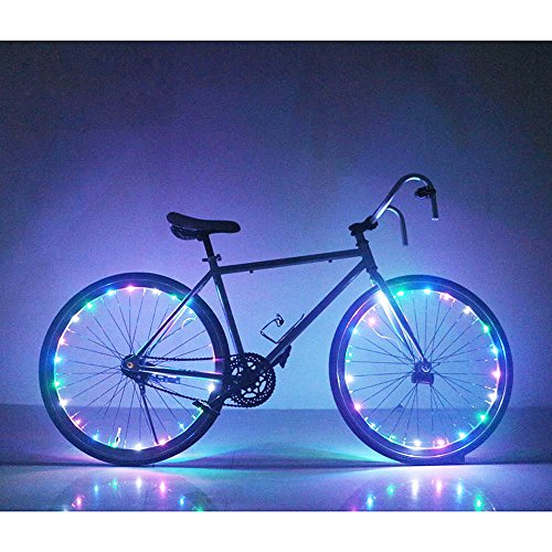 Soondar GEC0041 Bicycle Bike Rim Lights, LED, Multicolored