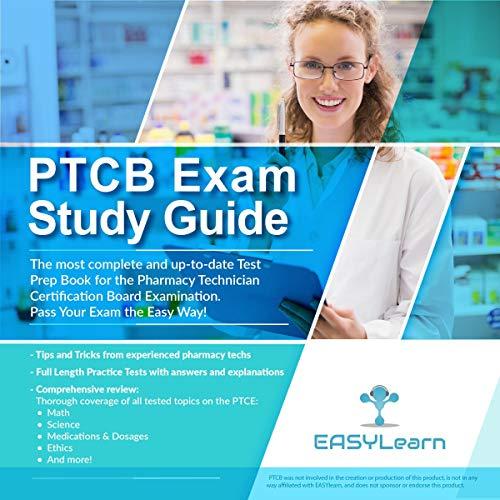 PTCB Exam Study Guide cover art