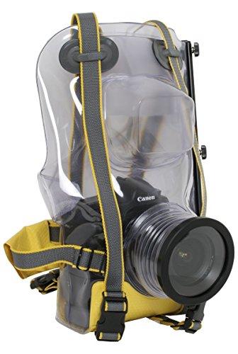 Ewa-Marine U-BXP 100 - Carcasa subacuática para Canon EOS 1D/Nikon D300 (hasta 50m, PVC doble laminado), transparente