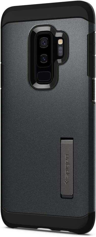 Spigen Tough Armor Designed for Samsung Galaxy S9 Plus Case (2018) - Graphite Gray