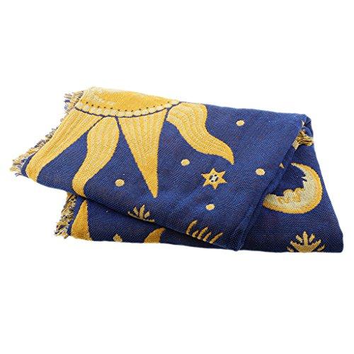 Baoblaze Funda Protectora de Muebles de Cama para Sillón Throw Sofa / - Sol, Individual