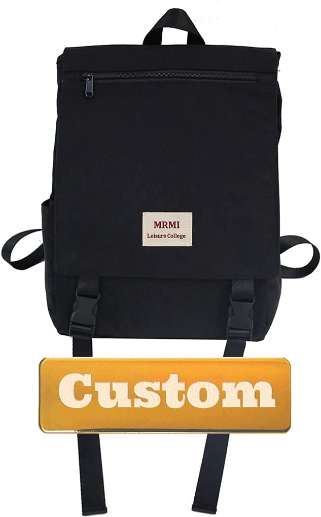 XYLKJD Personalized Name Men Hiking Lightweight Casual Small Backpack for Girls 20l Mini Fashion Backpack (Color : Black, Size : One Size)