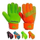 meteor Guantes Portero Goalkeeper Gloves Entrenamiento Futbol Equipacion fútbol niños niños - protección para los Dedos - Catch