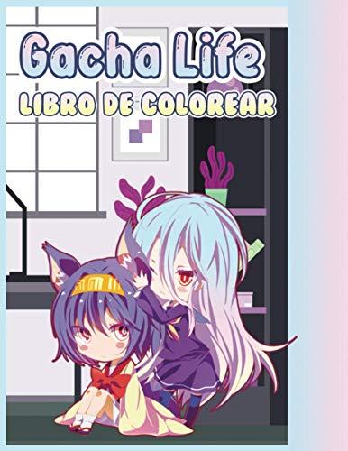 Gacha Life libro de colorear: Libro para colorear de alta calidad en vivo Gacha Fan | 100 ilustraciones, hermoso libro para colorear para niños y ... Encienda la creatividad con el color