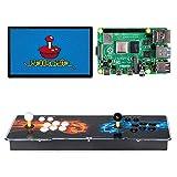 TAPDRA 10000+ Retro Games Console Arcade per Raspberry Pi 4 Modello B (4G RAM Edition) Supporta 4 Giocatori ES Retropie con 45+ emulatori HD 720P