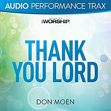 Thank You Lord (Live)