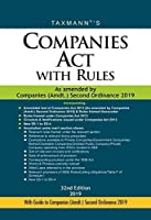 Companies Act with Rules-As Amended by Companies (Amdt.) Ordinance 2018 (Hardbound Pocket Edition) (32nd Edition 2019)