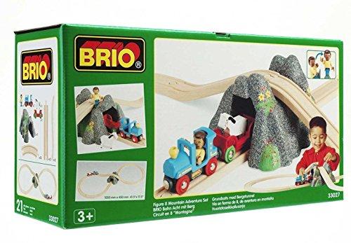 Brio - 33027 - Circuit de base – Circuit en 8 Montagne