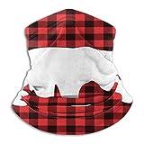 Bright Triangle - Máscara de cuello unisex para exteriores, resistente al viento, forro polar