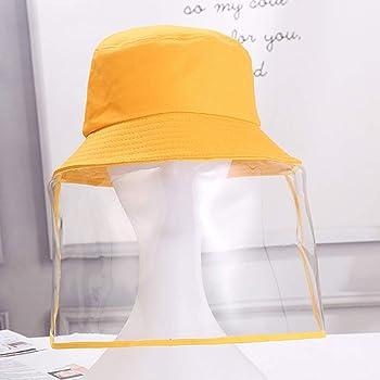 Cappelli protettivi Cappello da Pescatore Antiappannamento Antivento Cappuccio Protettivo Anti-sputo Protezione Facciale con Visiera Rimovibile Protezione UV Visiera Protettiva Trasparente Uomo Donna