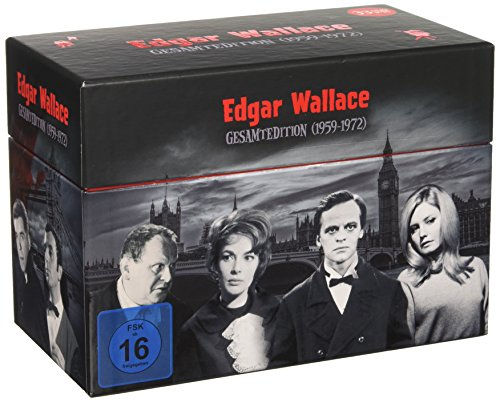 Edgar Wallace Gesamtedition (1959-1972) [33 DVDs]